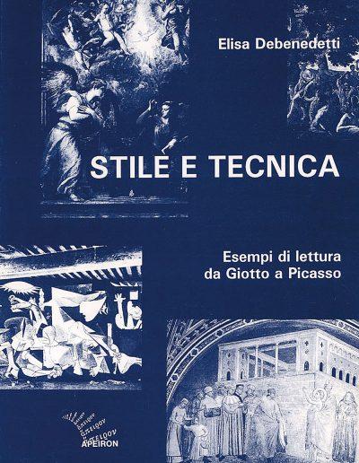 Stile-e-tecnica-Esempi-di-lettura-da-Giotto-a-Picasso-Elisa-Debenedetti