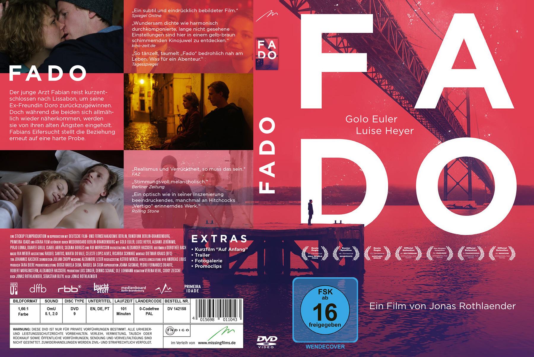 FADO - DVD cover | Korporal Web&Graphic Design